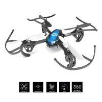 Holy Stone HS170 - Mini dron cuadricóptero teledirigido (2,4 GHz, giroscopio de 6 Ejes, con Mando a Distancia), Color Azul